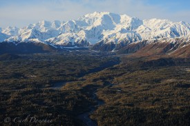 Mt. Cook and the Saint Elias Range.
