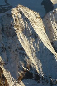 aerial photo of Saint Elias Mountains.