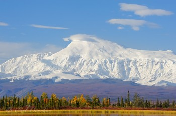 Mount Sanford, Wrangell - St. Elias National Park and Preserve, Alaska.